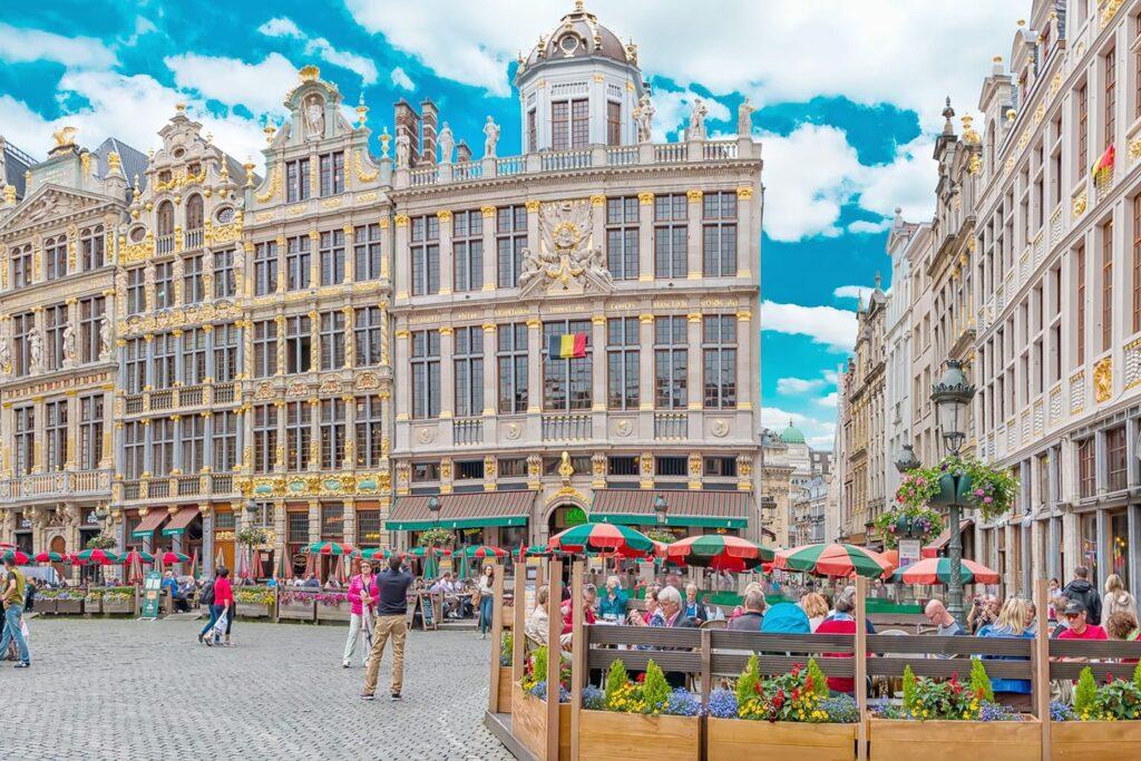 Viajando a Bruselas